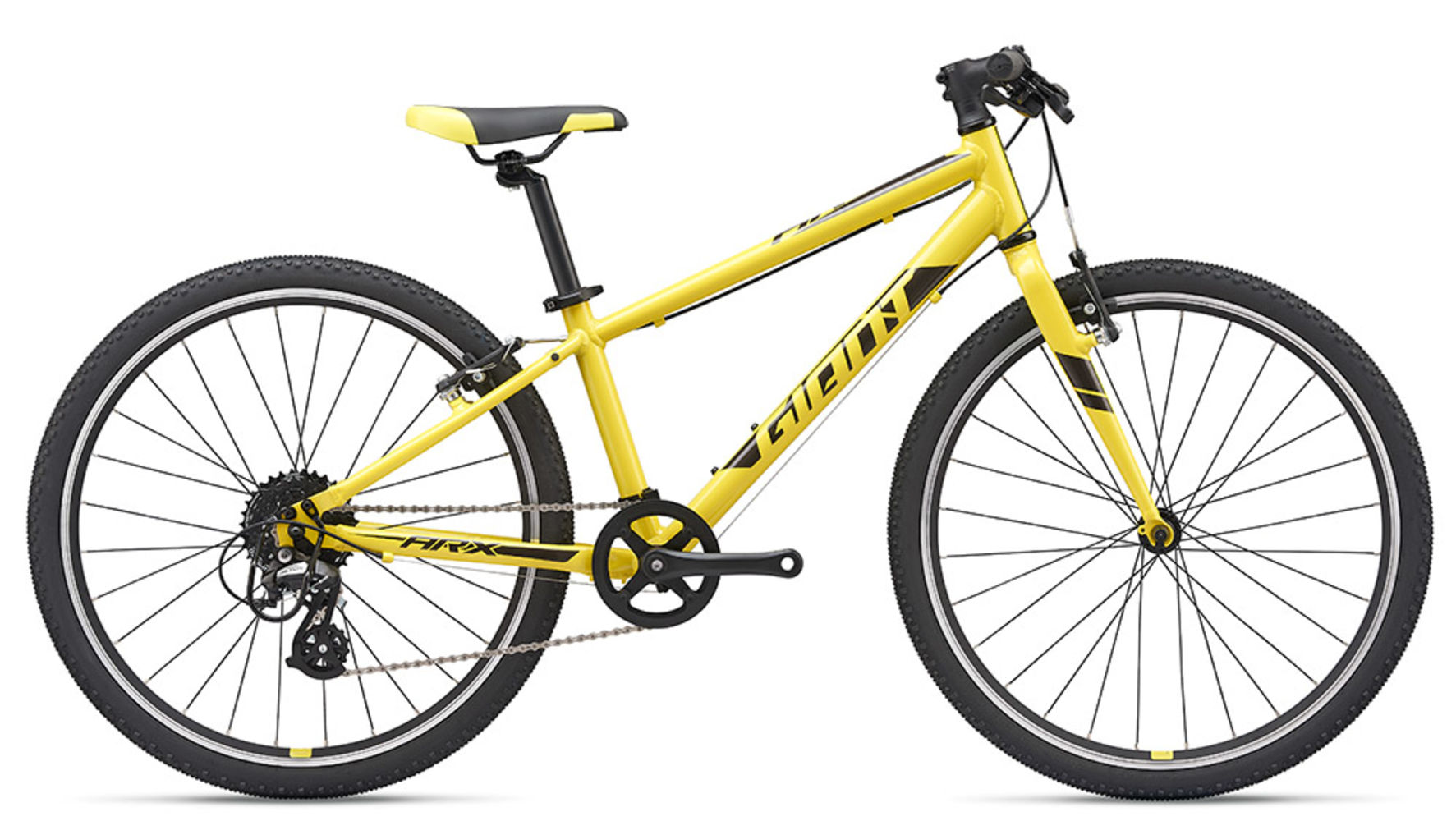 2019 Giant Arx 24 Childs Bike In Yellow 369 00